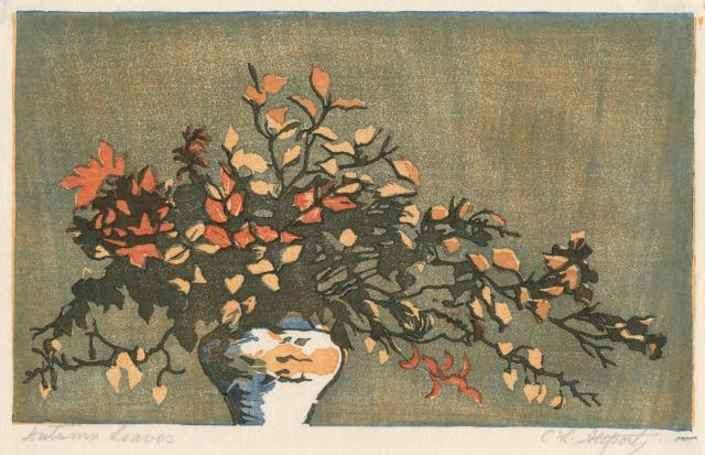 Autumn Leaves by Curzona Frances Louise Allport (Aberystwyth University School of Art)
