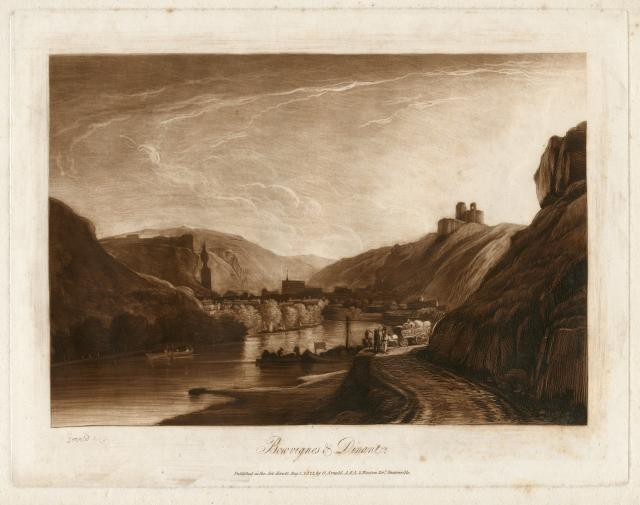 Bouvignes and Dinant by George  Arnald (Aberystwyth University School of Art)