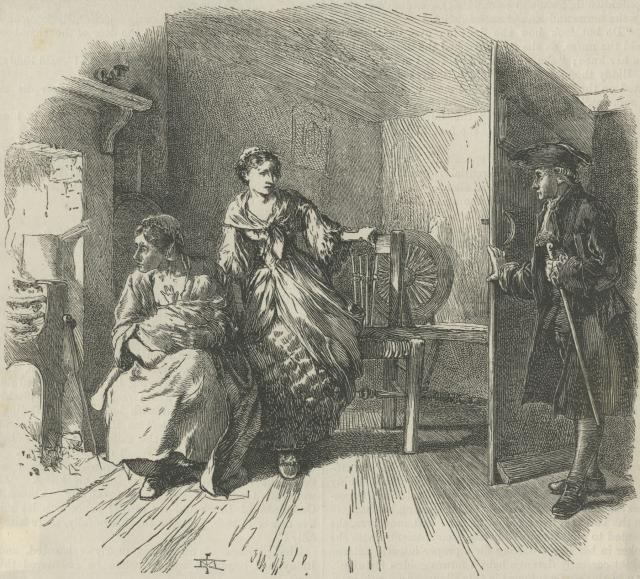 The Heiress of Chievely Dale by James Mahoney (Aberystwyth University School of Art)