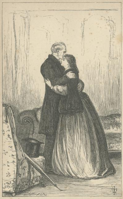 Orley Farm:'Farewell!'(1)  by John Everett Millais (Aberystwyth University School of Art)
