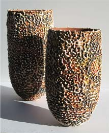 Ceramic vessels by Grainne Watts (Ireland)