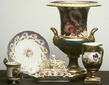 Items of Swansea and Nantgarw china