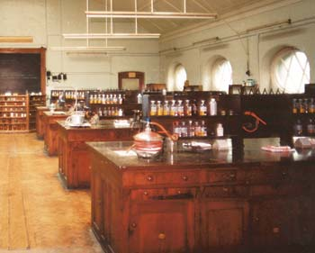 Chemistry Laboratory on the first floor