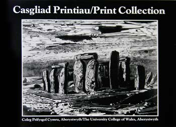 Cover of Catalogue 'Casgliad Printiau/Print Collection'