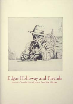 Cover of Catalogue 'Edgar Holloway and Friends'.
