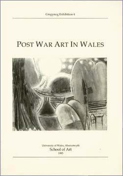 Cover of Catalogue 'Post-War Art in Wales'.