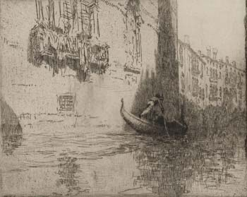 The Passing Gondola, 1925